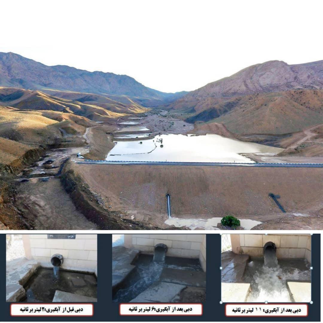 ۲۸۰۰ رشته قنات تحت پوشش طرحهای آبخیزداری و آبخوانداری قرار گرفت