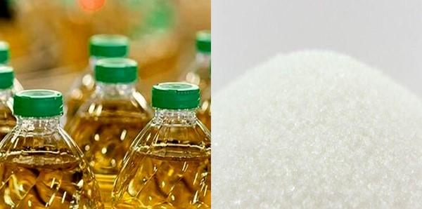 شکر و روغن کافی در بازار موجود است