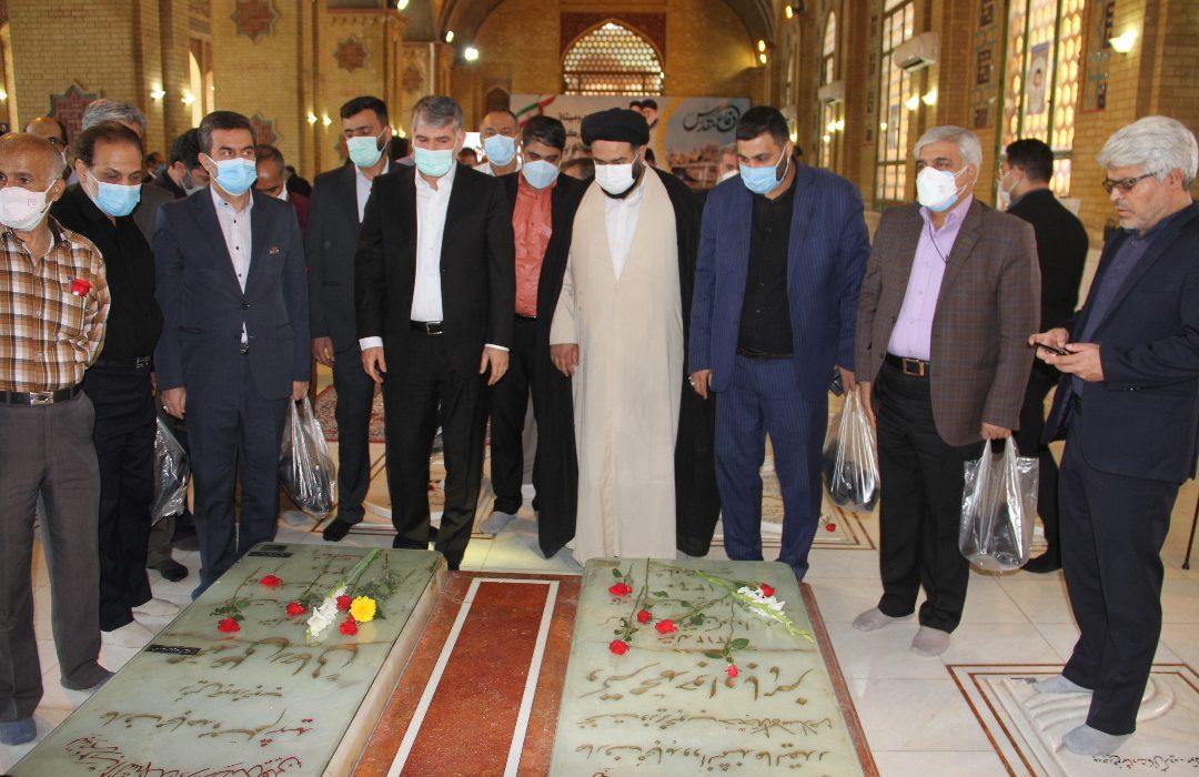تجدید میثاق مدیران و کارکنان وزارت جهاد کشاورزی با آرمانهای شهیدان
