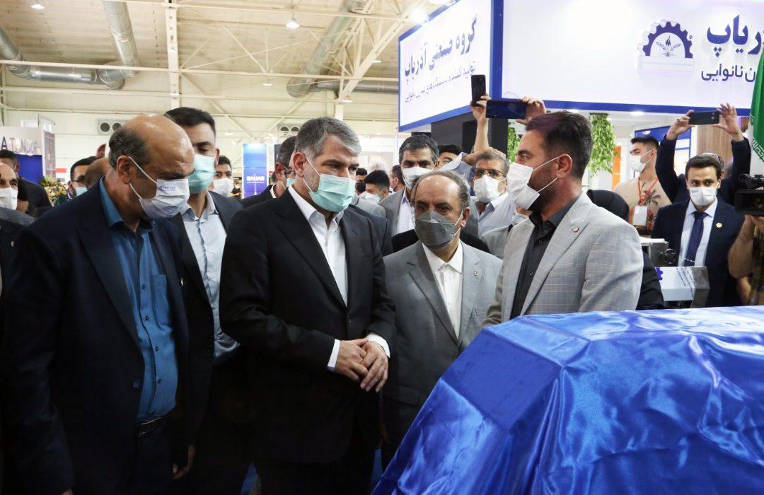 افتتاح سیزدهمین نمایشگاه بینالمللی صنعت غلات، آرد و نان با حضور وزیر جهاد کشاورزی