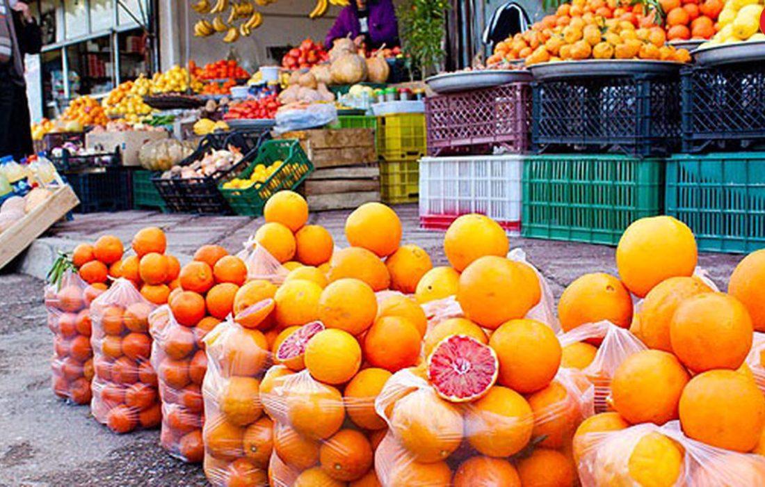 افزایش قیمت انواع میوه و صیفی در هفته سوم فروردین ۱۴۰۰